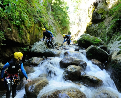 Canyoning Yves Degravel Organisation