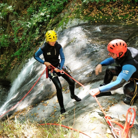 Canyoning Yves Degravel Organisation