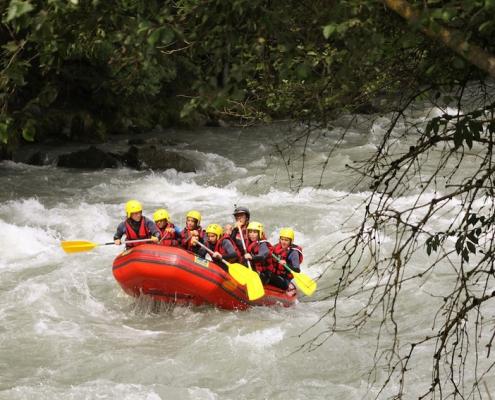 Rafting Yves Degravel Organisation