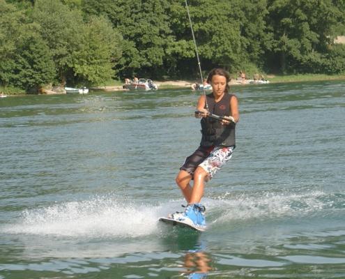 Ski nautique wake-board Yves Degravel Organisation